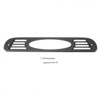 AMI® - Oval Style Black Powder Coat 3rd Brake Light Cover