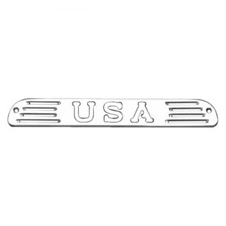 AMI® - USA Style Brushed 3rd Brake Light Cover