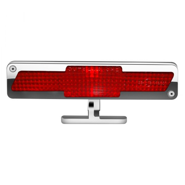 AMI® - Polished Chrome/Red Bowtie Style Pedestal 3rd Brake Light