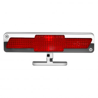 AMI® - Chrome/Red Pedestal 3rd Brake Light