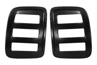 AMI® - V-Tech Slotted Style Black Side Window Cover