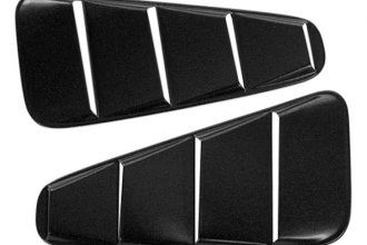 AMI® V3190K - V-Tech Black Window Louver Cover