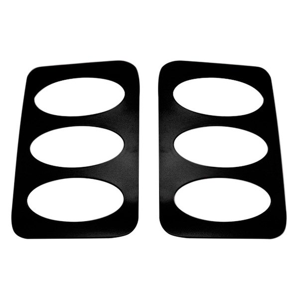 AMI® - V-Tech Black Oval Style Side Window Cover