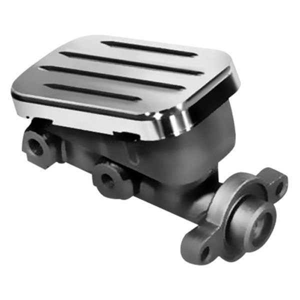 Image may not reflect your exact vehicle! AMI® - Brushed Billet Master Cylinder Cap