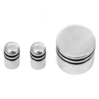 AMI® - Billet Radio Knob Kit - 3 Knobs Set