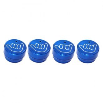 AMI® - Hang Loose Style Blue Billet Dash Knobs
