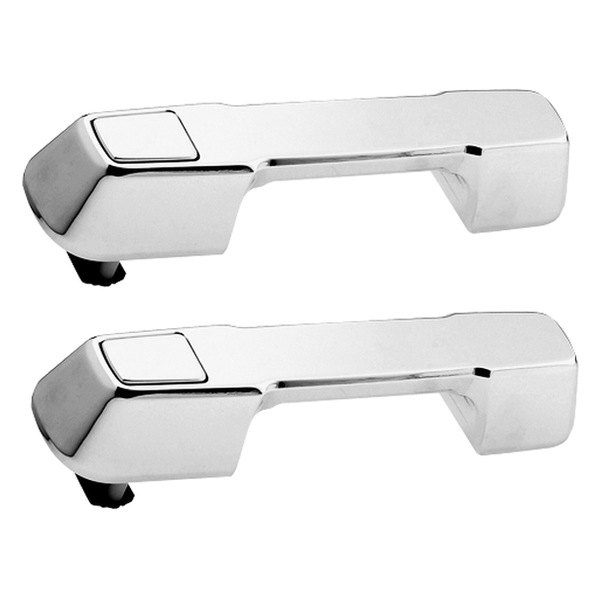 AMI® - Plain Style Chrome Billet Door Handles Assembly