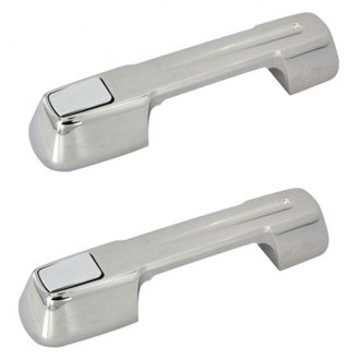 AMI® - Ball-Milled Style Polished Billet Door Handles Assembly