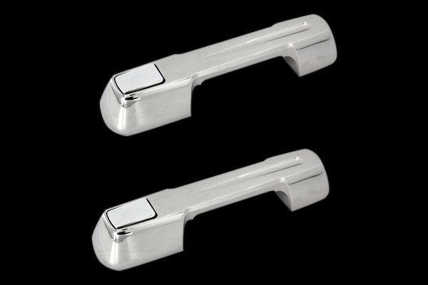 AMI® - Ball-Milled Style Chrome Billet Door Handle Assembly