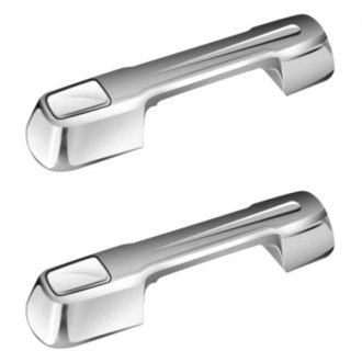 AMI® - Ball-Milled Style Chrome Billet Door Handles Assembly