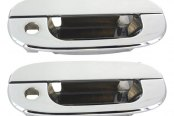 AMI® - Chrome Billet Door Handle Assembly - With Driver and Passenger Side Lock Holes