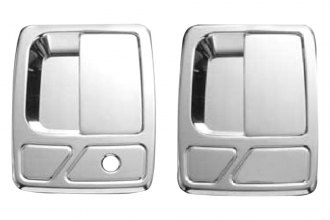 AMI® - Brushed Chrome Billet Door Handles Assembly