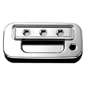 AMI® - Dimple Style Chrome Billet Tailgate Handle Assembly