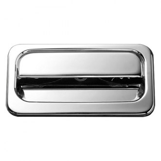AMI® - Plain Style Chrome Billet Tailgate Handle Assembly