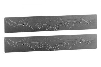 AMI® - Tribal Style Brushed Rear Door Sills