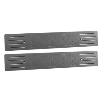 AMI® - D-MAX Style Brushed Rear Door Sills