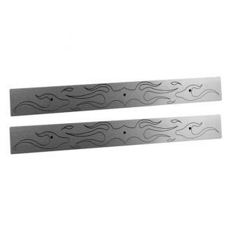 AMI® - Flame Style Brushed Rear Door Sills