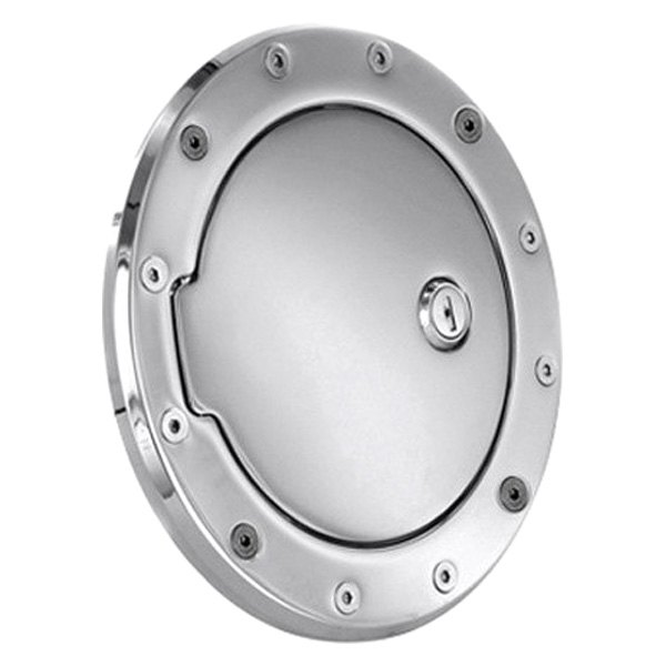 AMI® - Race Style Chrome Locking Billet Fuel Door