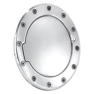 AMI® - Race Style Polished Non-Locking Billet Fuel Door