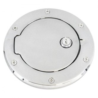 AMI® - Race Style Locking Brushed Billet Gas Cap Cover
