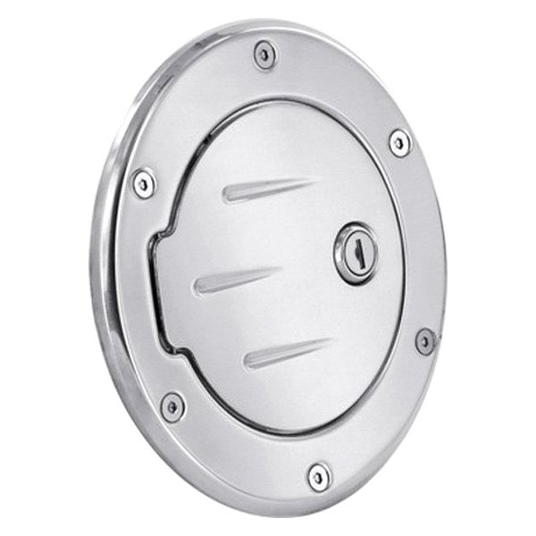 AMI® - Race Style Locking Chrome Ball-Milled Billet Gas Cap Cover