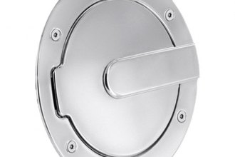 AMI® 6070C - Race Style Chrome Non-Locking Billet Fuel Door