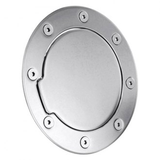 AMI® - Race Style Non-Locking Chrome Billet Gas Cap Cover