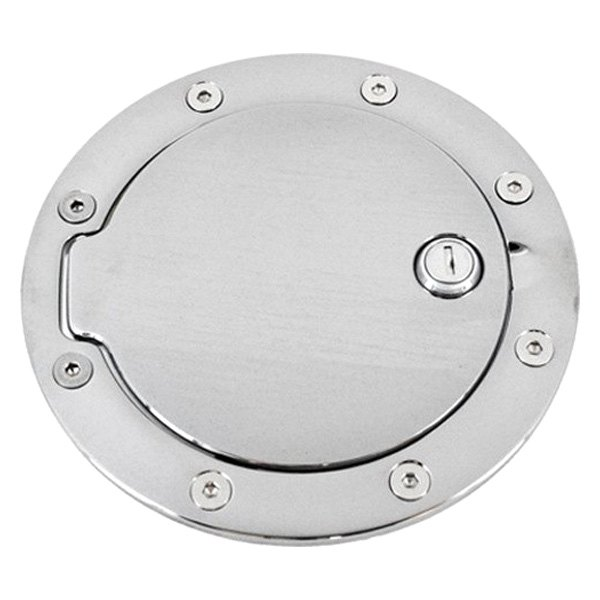 AMI® - Race Style Locking Chrome Billet Gas Cap Cover