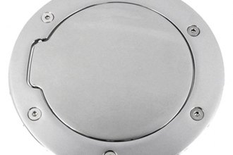 AMI® 6104C - Race Style Chrome Non-Locking Billet Fuel Door
