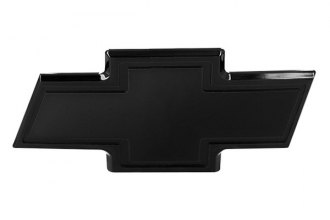 AMI® 96004K - Chevy Bowtie Black Powder Coated Liftgate Billet Emblem