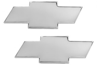 AMI® 96108C - Chevy Bowtie Chrome Grille and Liftgate Billet Emblems
