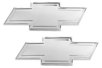 AMI® 96109C - Chevy Bowtie Chrome Grille and Liftgate Billet Emblems