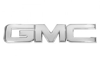 AMI® 96502P - GMC Style Polished Tailgate or Liftgate Billet Emblem