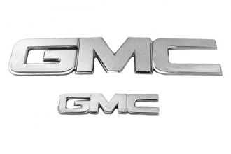 AMI® 96510C - GMC Style Chrome Grille and Tailgate or Liftgate Billet Emblems