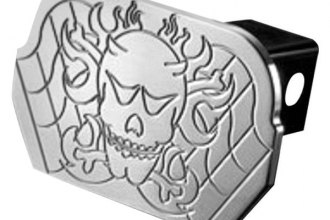 AMI® - Polished Skull Hitch Cover
