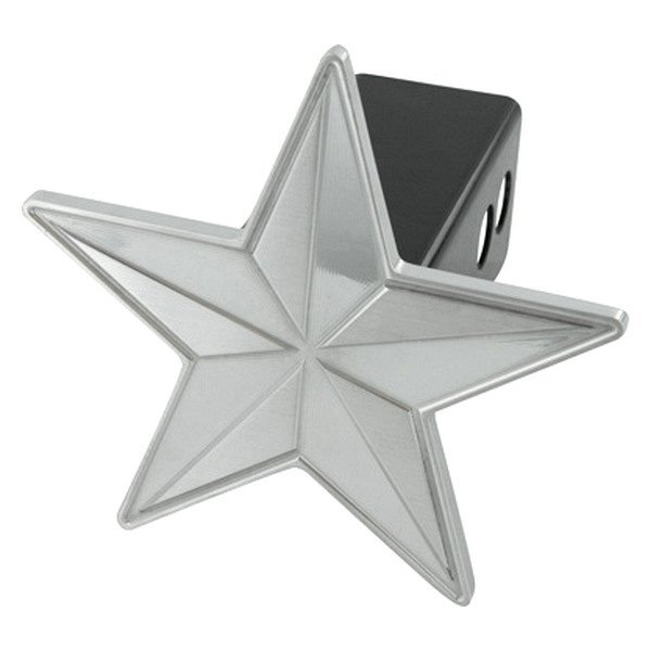 AMI® - Nautical Star Polished Hitch Cover