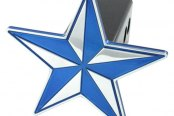AMI® - Nautical Star Blue Hitch Cover