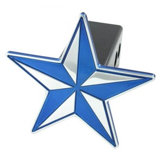 AMI® - Universal Blue Nautical Star Hitch Cover