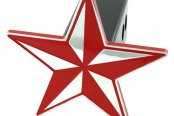 AMI® - Nautical Star Red Hitch Cover