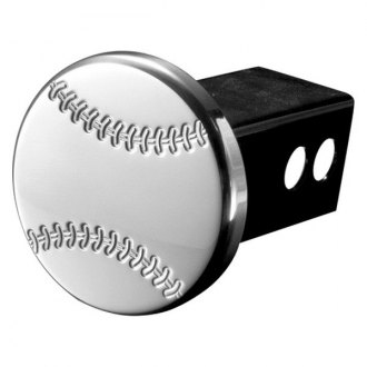 "AMI® - Polished Baseball Hitch Cover for 2"" Receivers"