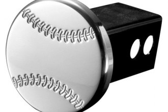 AMI® - Polished Baseball Hitch Cover