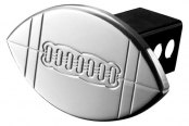 AMI® - Universal Polished Football Hitch Cover