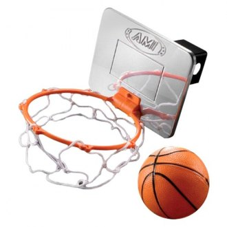"AMI® - Polished Basketball Hoop Hitch Cover for 2"" Receivers"