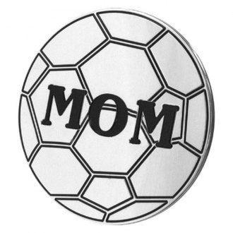 "AMI® - Polished Soccer Mom Hitch Cover for 2"" Receivers"