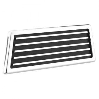 Image may not reflect your exact vehicle! AMI® - Polished Hood Vent Grille
