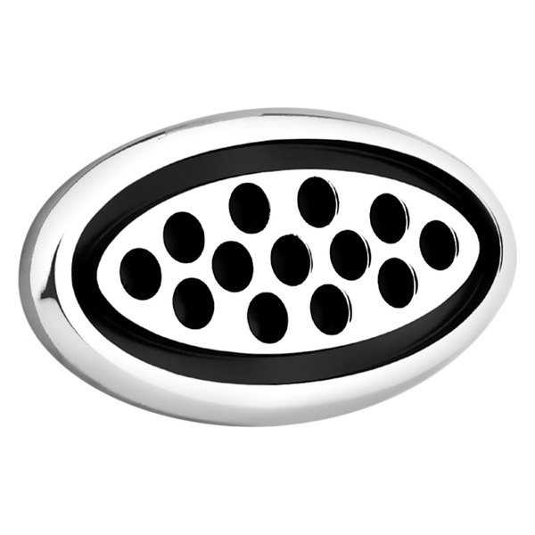 AMI® - Polished Oval Side Vent with Black Circles