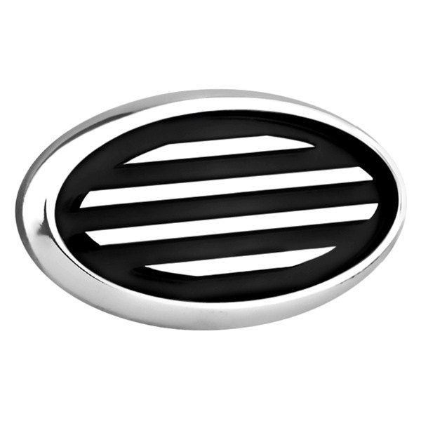 AMI® - Polished Oval Side Vent with Black Lines