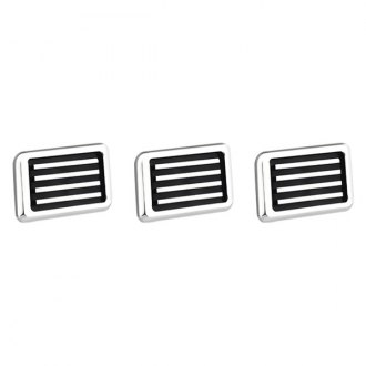 AMI® - Polished Rectangle Side Vents with Black Lines
