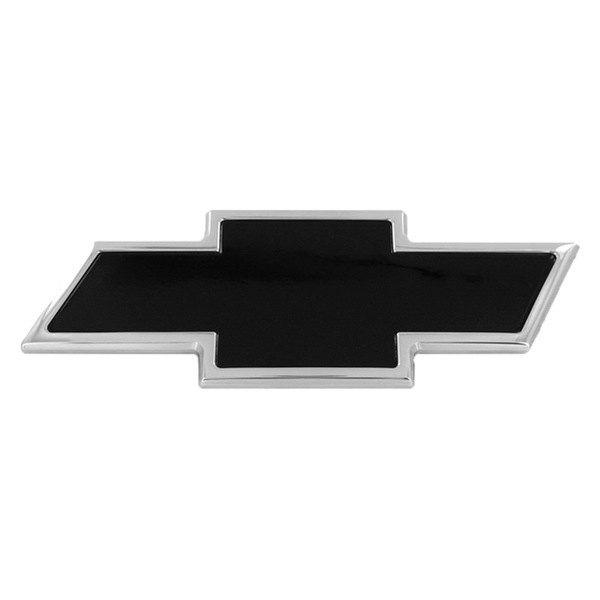 AMI® 96093KC - Chevy Bowtie Style Black Tailgate Emblem