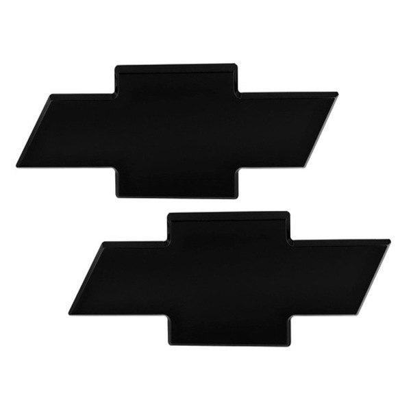 Ami 96123k Chevy Bowtie Style Black Trunk Emblem